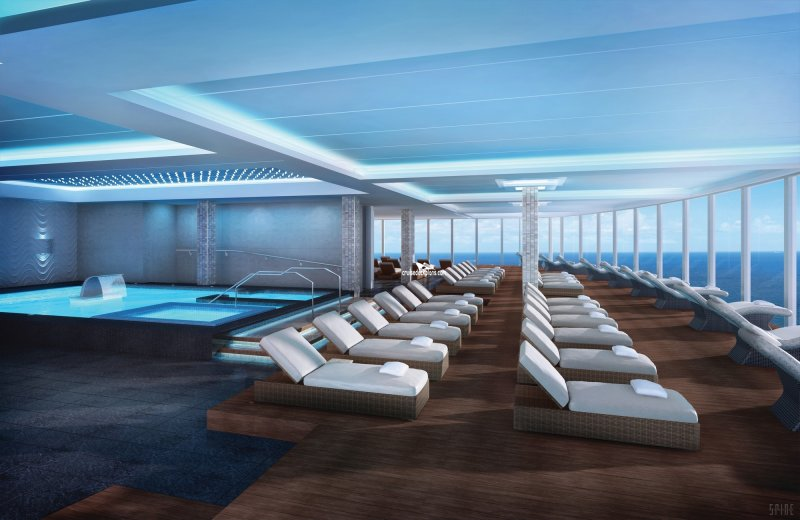 Norwegian Escape Spa Thermal Suite