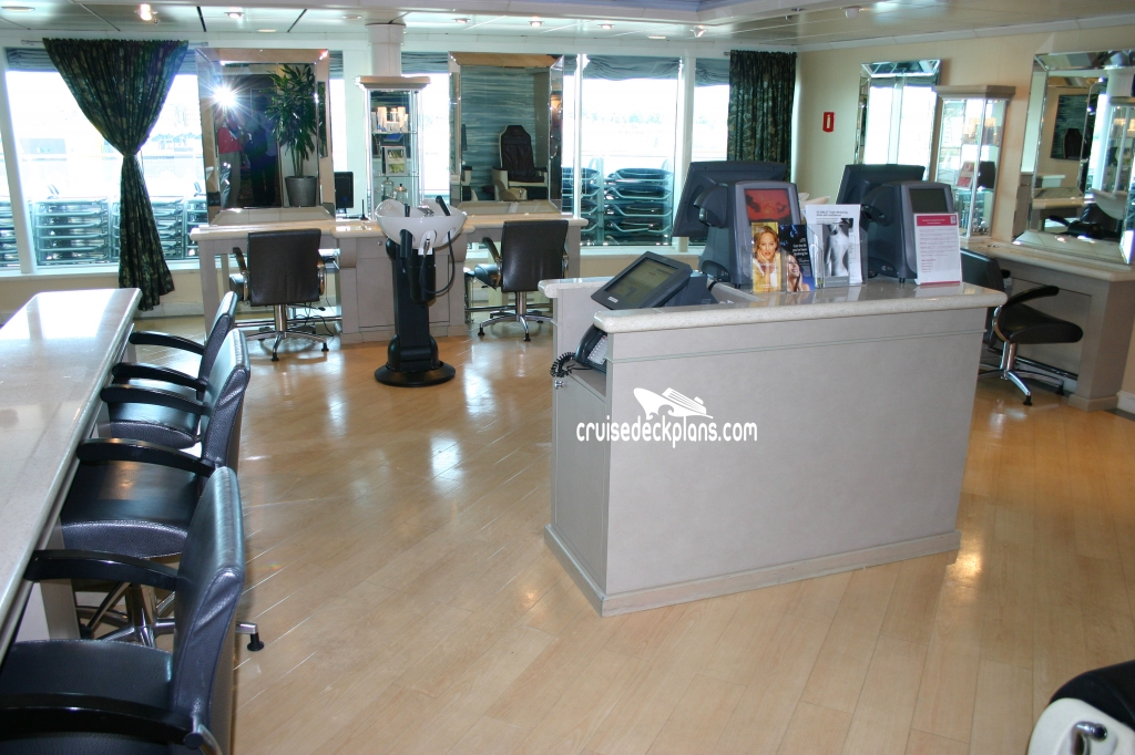 Independence of the seas vitality at sea spa for Adonia beauty salon