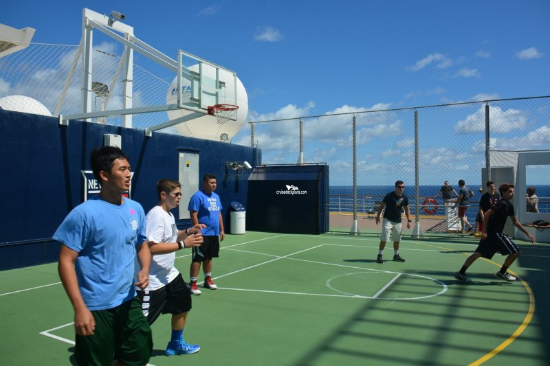 Celebrity Summit Sports Court Pictures