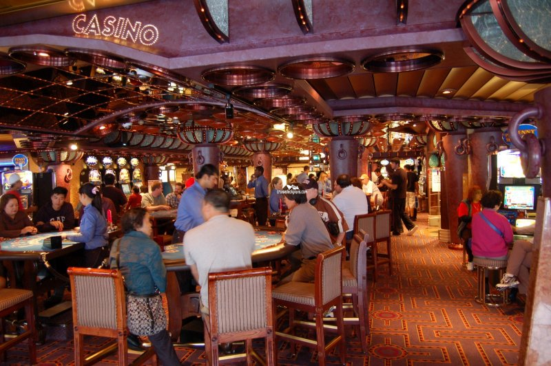 Carnival Paradise Majestic Casino Pictures