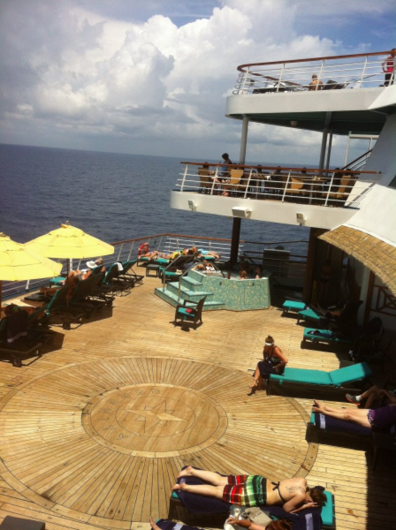 carnival paradise serenity pictures