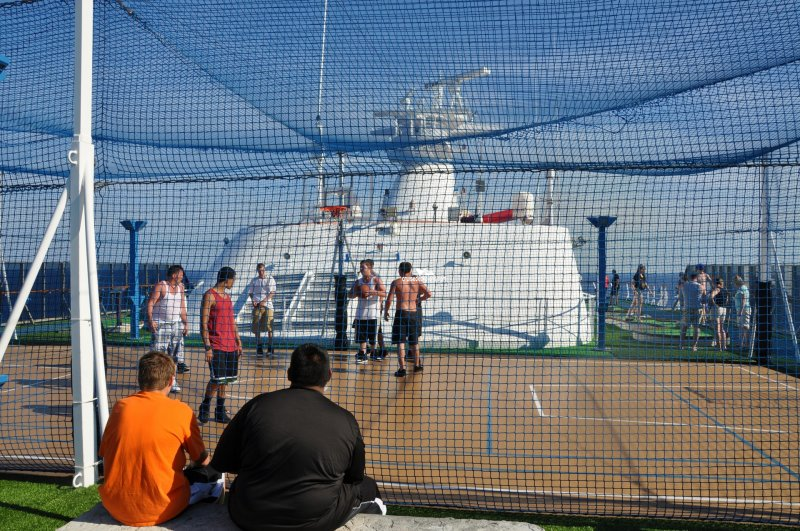 Carnival Miracle Sports Court