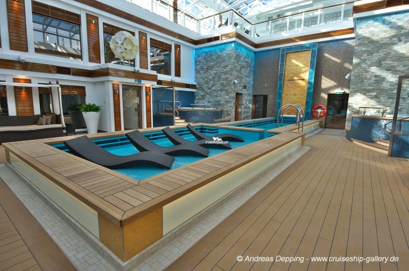 Norwegian Escape The Haven Courtyard