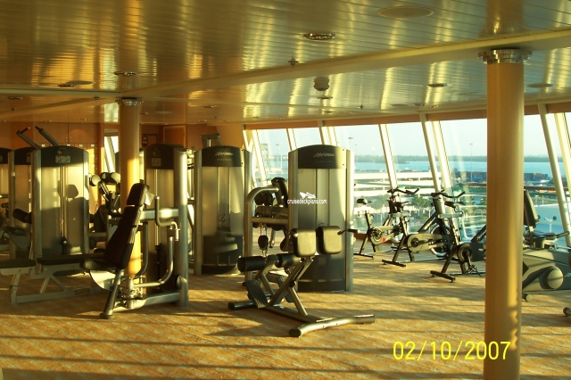 Majesty of the Seas Fitness Center