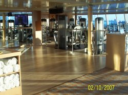 Majesty of the Seas Fitness Center Henry Dennis