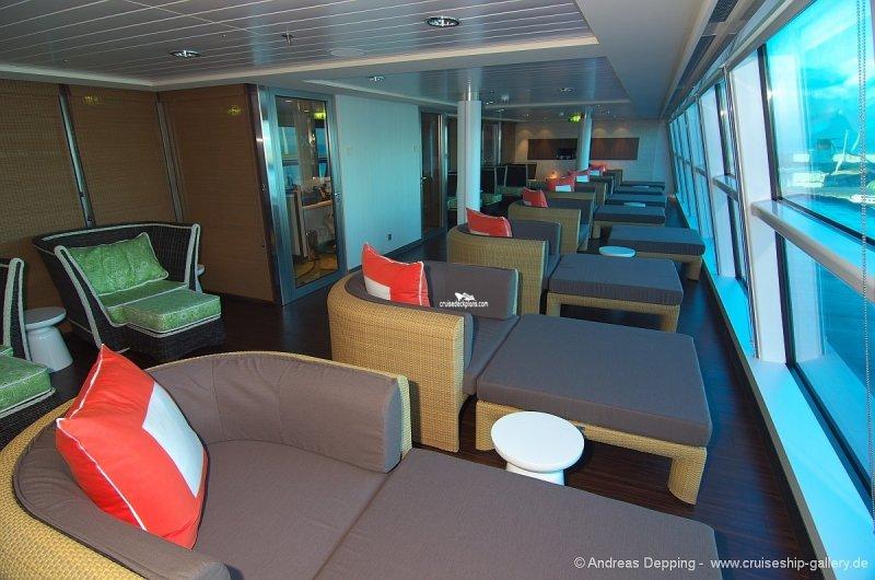 Celebrity Reflection deck 11 plan | CruiseMapper