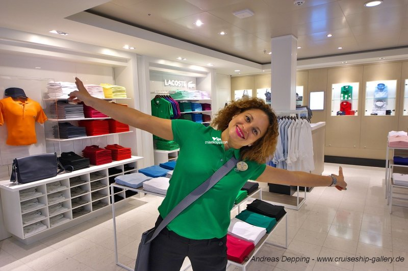 Norwegian Escape Tradewinds and Duty Shops