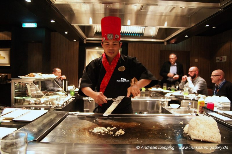 Norwegian Escape Teppanyaki