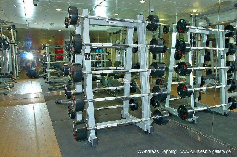 Norwegian Breakaway Fitness Center Pictures