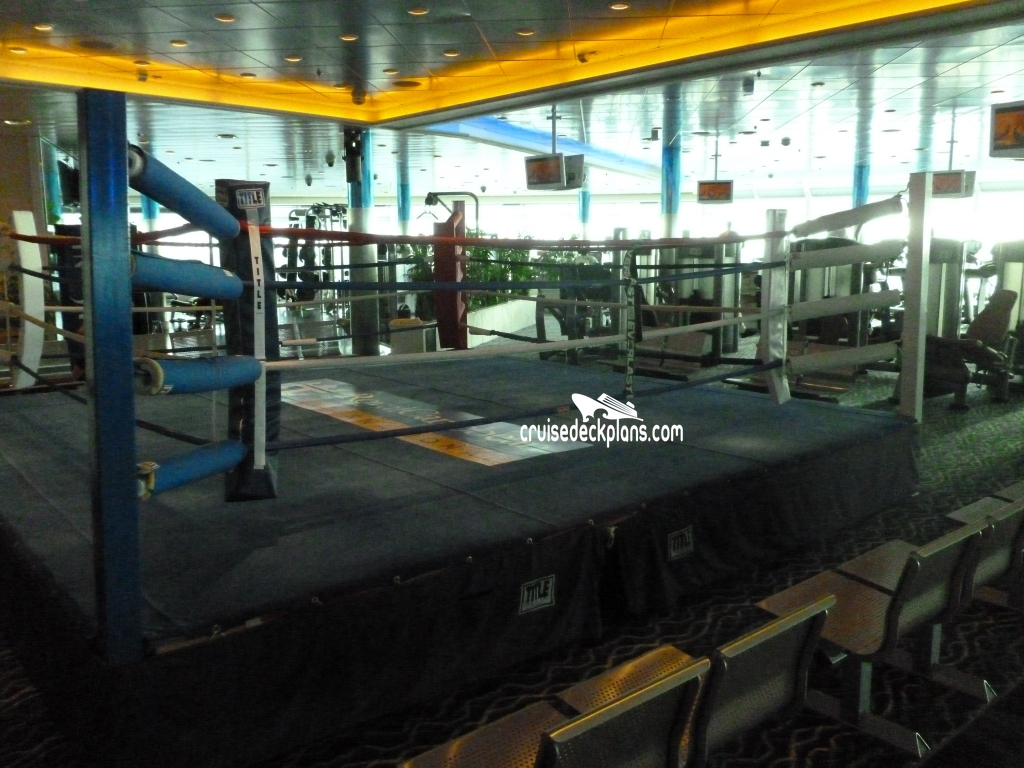 Independence of the Seas Fitness Center Pictures