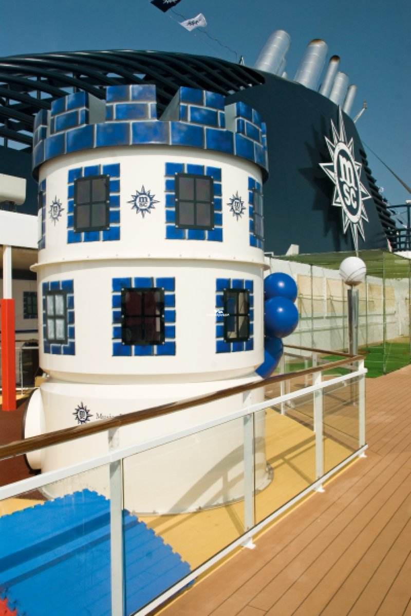 MSC Musica Childrens Outdoor Pool & Games