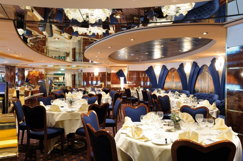 Msc Poesia Le Fontane Restaurant Pictures