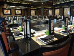 Norwegian Escape Teppanyaki Lou