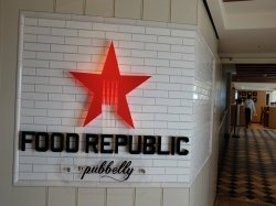 Norwegian Escape Food Republic anonymous