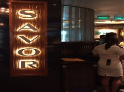 Norwegian Escape Savor Restaurant Elizabeth A Dominguez