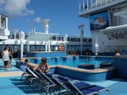Norwegian Escape Main Pool anonymous