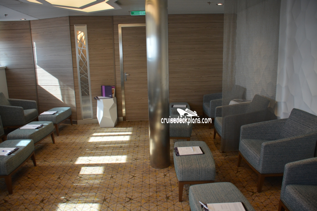 Anthem of the seas spa and fitness center for Adonia beauty salon