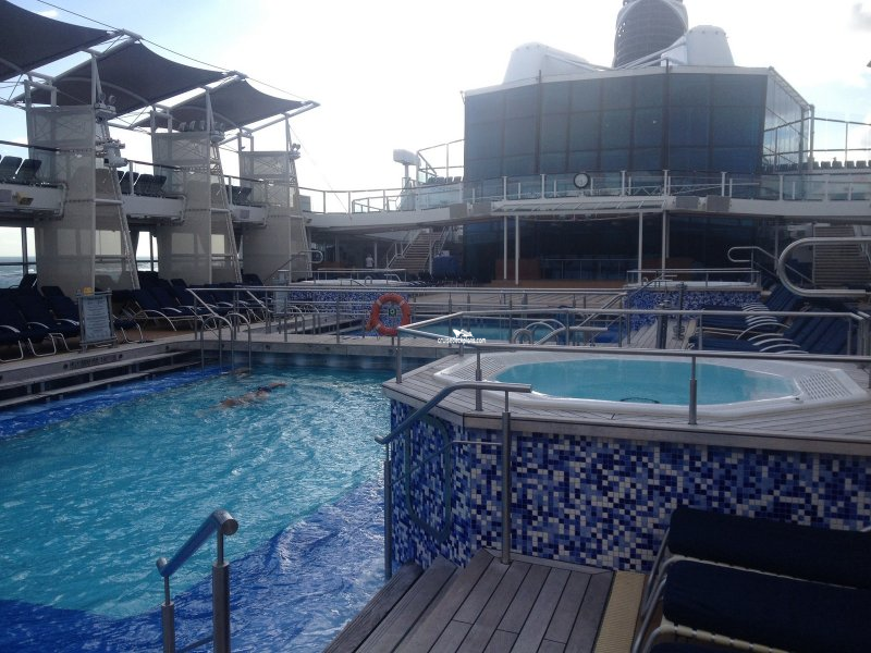Celebrity Eclipse Main Pools