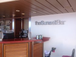 Celebrity Eclipse Sunset Bar John Mundell