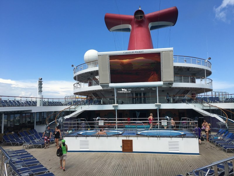 Carnival Victory Cruise Ship Deck Plan | DIY Woodworking