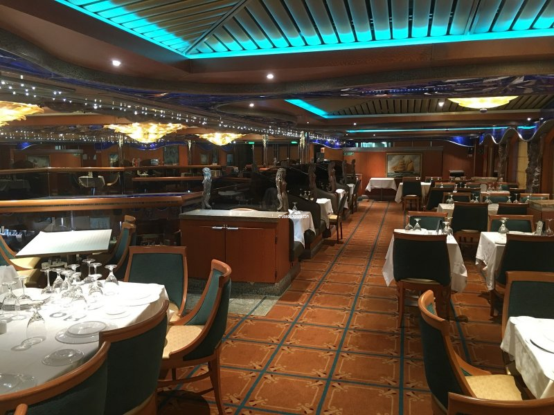 Carnival Victory Pacific Dining Room Upper