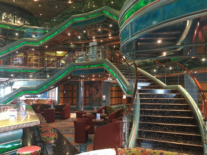 Carnival Victory Seven Seas Lobby Pictures