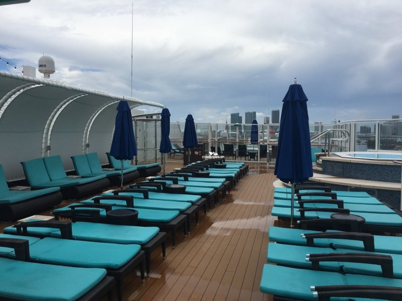 Norwegian Escape The Haven Private Sundeck