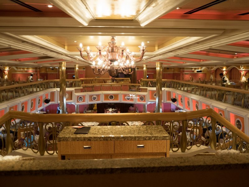 carnival valor lincoln dining room