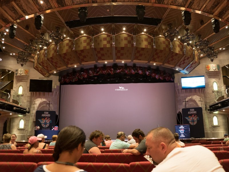 Carnival Valor Ivanhoe Theater Pictures