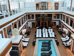 Norwegian Escape The Haven Courtyard anonymous