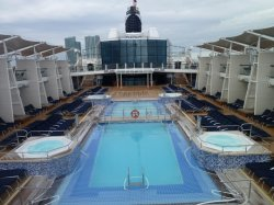 Celebrity Eclipse Main Pools Crissy