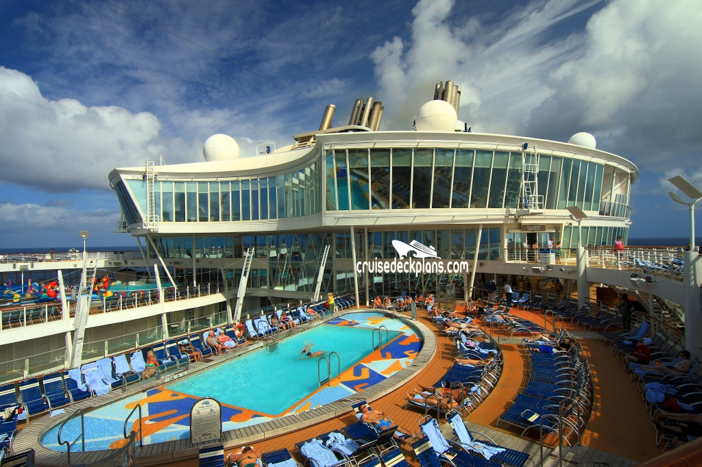 Allure Of The Seas Beach Pool Pictures