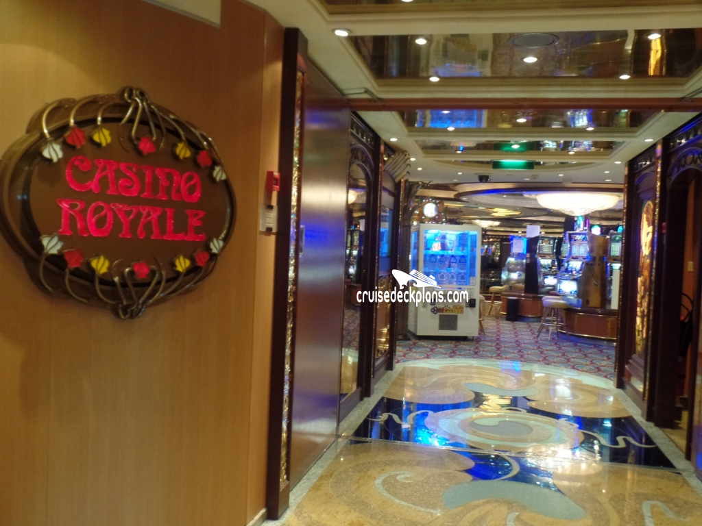 Brilliance of the Seas Casino Royale
