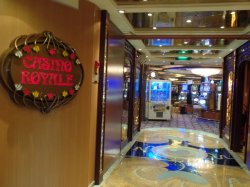Brilliance of the Seas Casino Royale Annette Dahlke