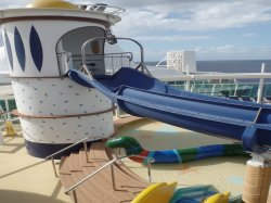 Brilliance of the Seas Adventure Beach Annette Dahlke
