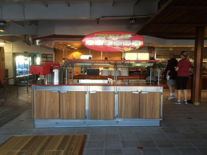 carnival imagination guys burger joint pictures