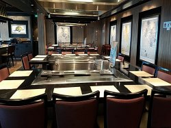 Norwegian Escape Teppanyaki Meg Ryan