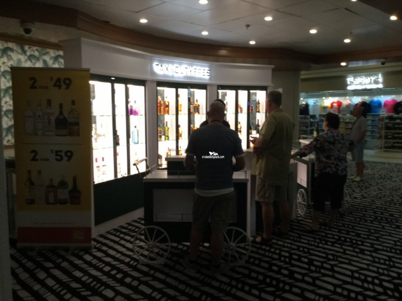 Pacific Dawn Tax and Duty Free Shops