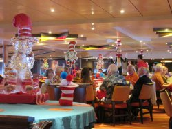 carnival sunshine sunset dining room pictures