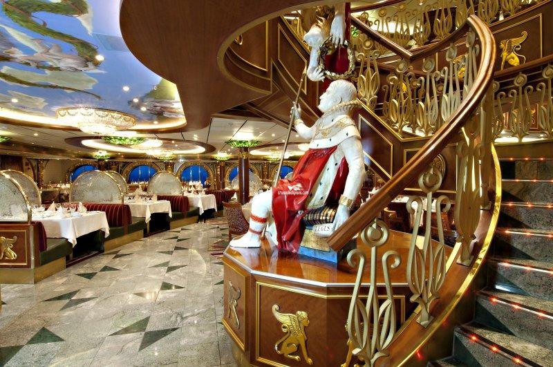 Carnival Spirit Empire Restaurant Pictures