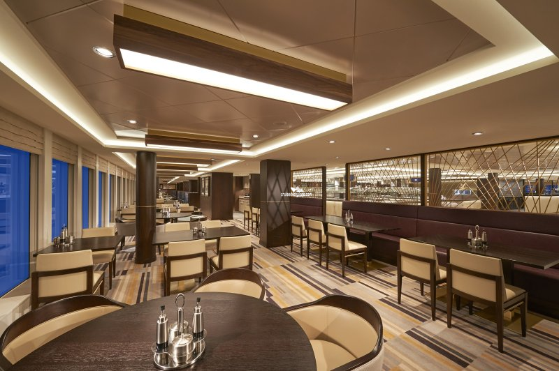 Norwegian Joy Garden Cafe Pictures