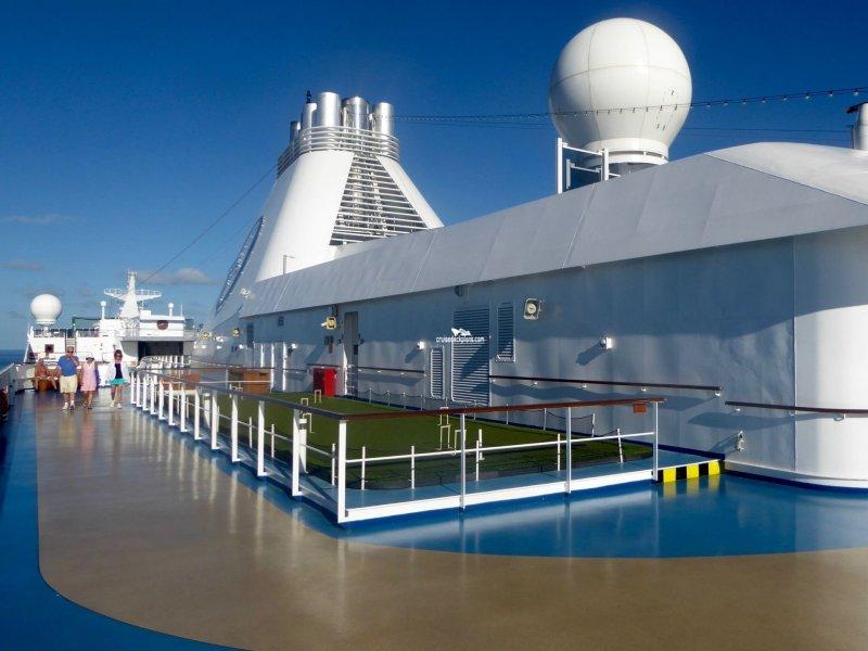 Oceania Marina Deck 15 Deck Plan Tour