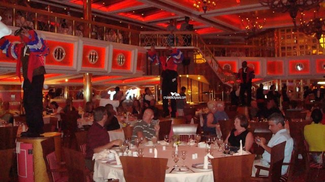 Carnival Cruise Which Dining Room Will I Be Assigned To