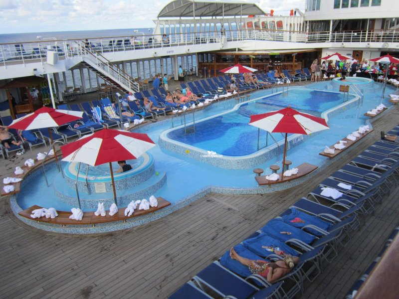Carnival Elation Pool Pictures