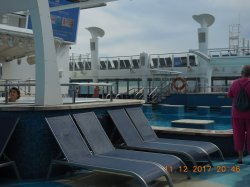 Norwegian Escape Main Pool Candie Britland