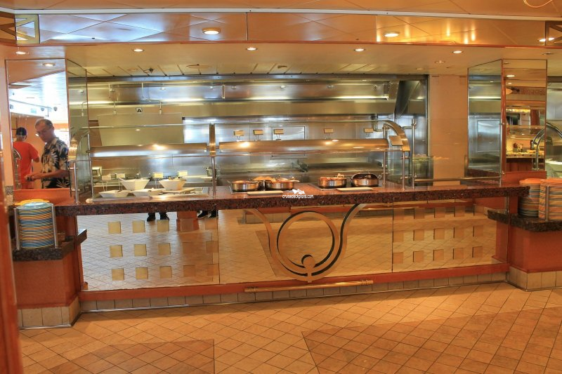 Norwegian Pearl Garden Cafe