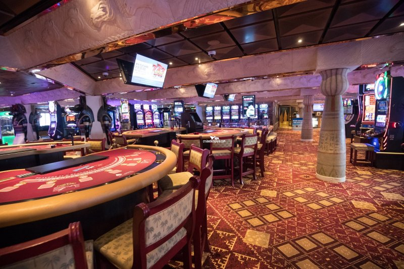 Carnival Glory Camel Club Casino Pictures
