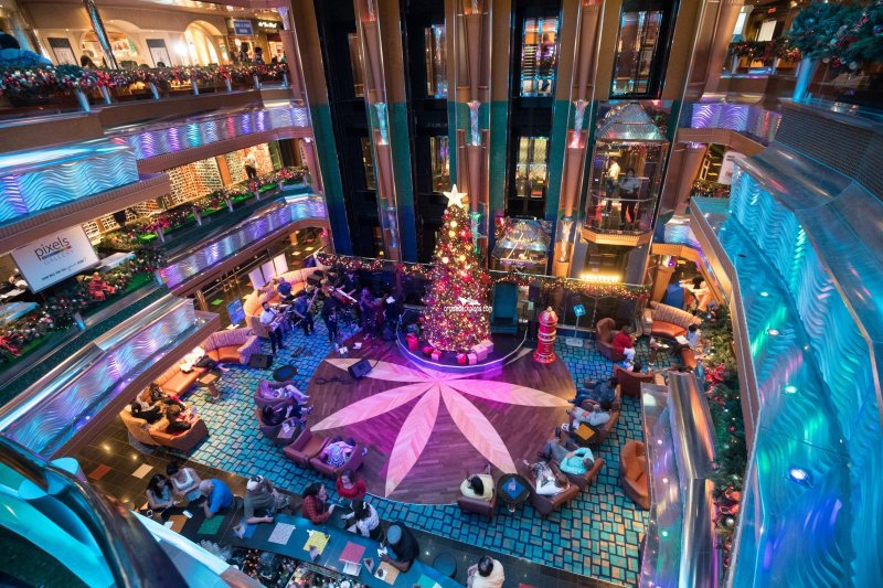 Carnival Glory Old Glory Atrium Pictures