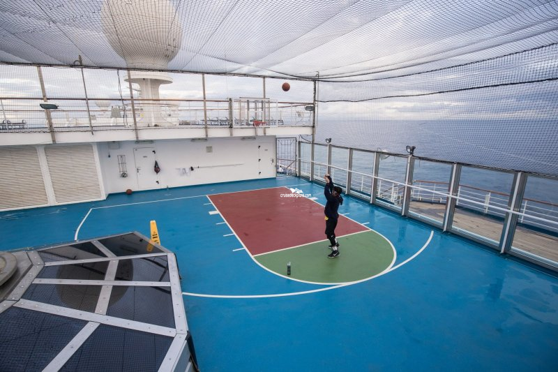 Carnival Glory Sports Deck Pictures