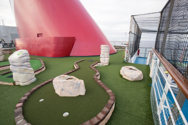 Carnival Glory Mini Golf Pictures